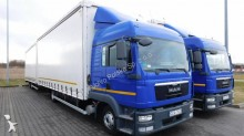 used MAN tautliner trailer truck