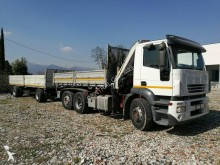 used Iveco three-way side tipper trailer truck