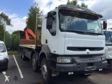 used Renault standard flatbed trailer truck