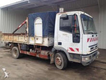 used Iveco standard flatbed trailer truck
