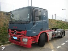 used Mercedes car carrier trailer truck