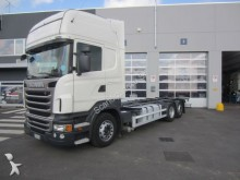 used Scania chassis trailer truck