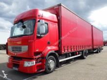 used Renault tautliner trailer truck
