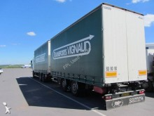 used Scania tautliner trailer truck