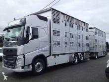 used Volvo livestock trailer truck