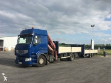used Renault dropside flatbed trailer truck