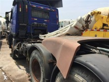 used Volvo heavy equipment transport trailer truck