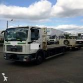 used MAN standard flatbed trailer truck
