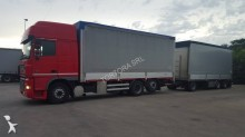 used DAF tautliner trailer truck