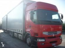 Renault tarp trailer truck