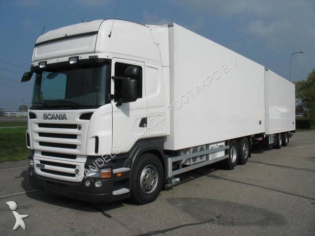 occasion camion remorque scania frigo pictures. Black Bedroom Furniture Sets. Home Design Ideas