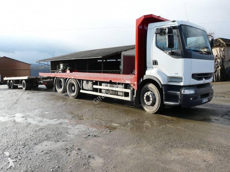 camion remorque renault plateau porte paille premium 400. Black Bedroom Furniture Sets. Home Design Ideas