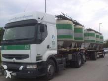 used Renault powder tanker trailer truck