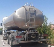 camión remolque cisterna alimentario Scania usado