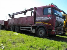camion cu remorca furgon pentru mutari Volvo second-hand