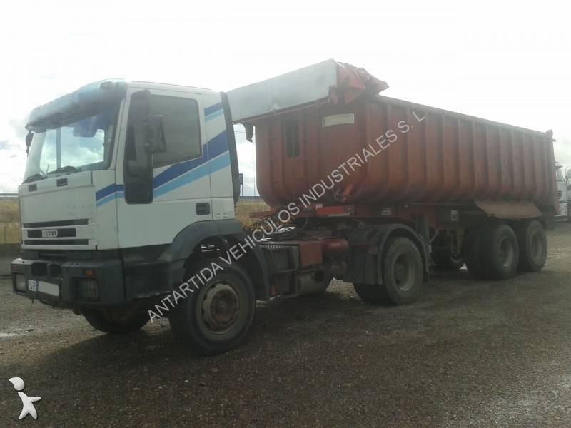 camion remorque iveco benne eurotech 400e34 4x2 gazoil. Black Bedroom Furniture Sets. Home Design Ideas