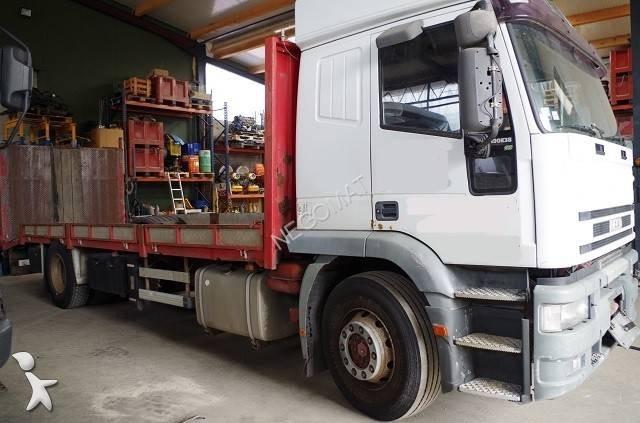 camion remorque iveco plateau eurotech 190e38 4x2 euro 2 occasion
