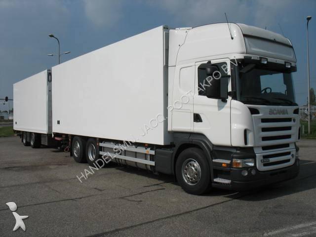 camion remorque scania frigo sp cial fleurs r 500 6x2 gazoil euro 5 hayon occasion n 548217. Black Bedroom Furniture Sets. Home Design Ideas