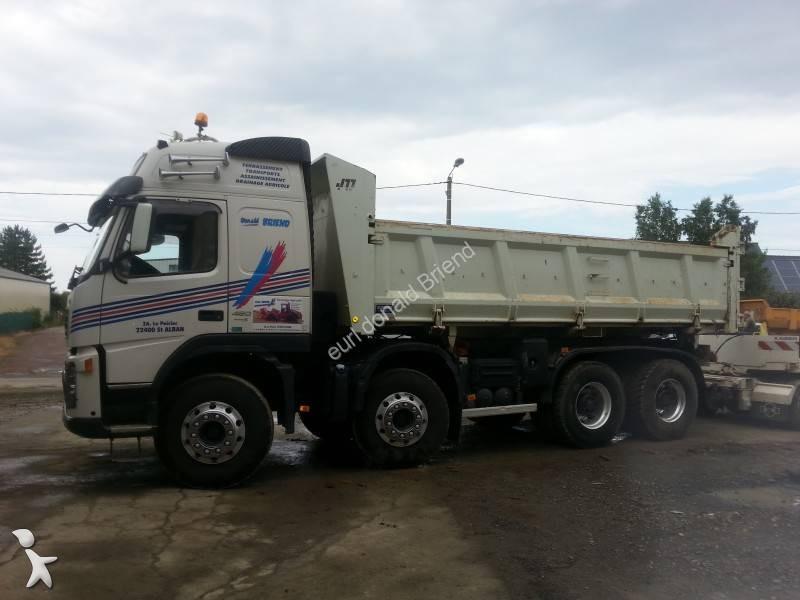 used volvo fm tipper trailer truck 480 8x4 diesel euro 6 n 1046177. Black Bedroom Furniture Sets. Home Design Ideas