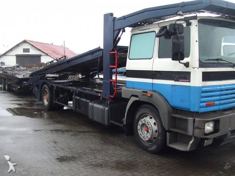 camion remorque renault porte voitures gamme g 390 occasion n 90779. Black Bedroom Furniture Sets. Home Design Ideas