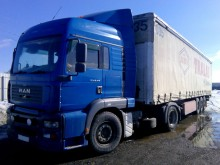 used box tractor-trailer
