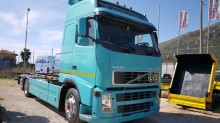used Volvo container tractor-trailer