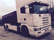 ensemble routier porte containers Scania occasion