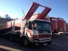 tractora semi portacoches Scania usada