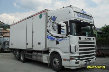 used Scania insulated tractor-trailer