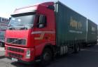 ensemble routier savoyarde système bâchage coulissant Volvo occasion