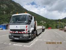 ensemble routier plateau ridelles Renault occasion