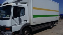used Mercedes box tractor-trailer