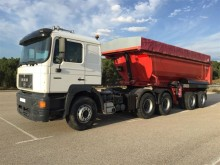used MAN tipper tractor-trailer