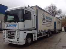 used Renault tautliner tractor-trailer