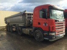 ensemble routier benne Scania occasion