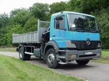 used Mercedes standard tipper tractor-trailer