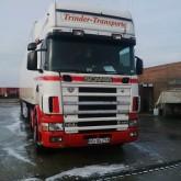 tractora semi frigorífico Scania usada
