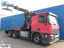 used Mercedes timber tractor-trailer