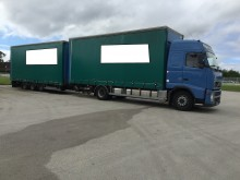 used Volvo tautliner tractor-trailer