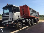 tractora semi volquete Scania usada