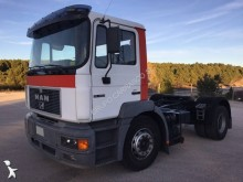 used MAN oil/fuel tanker tractor-trailer