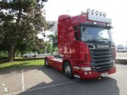 ensemble routier porte voitures Scania occasion