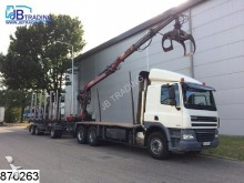 ensemble routier DAF CF 85 460 6x4, EURO 5, Wood / Tree , Manual, Ret