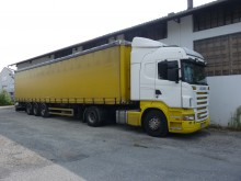 used Scania tautliner tractor-trailer