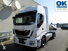used Iveco heavy equipment transport tractor-trailer