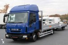 used Iveco dropside flatbed tarp tractor-trailer