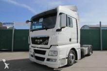 used MAN heavy equipment transport tractor-trailer