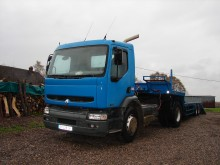 used Renault heavy equipment transport tractor-trailer