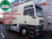 ensemble routier porte engins MAN