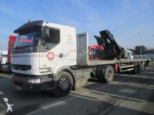 used Renault flatbed tractor-trailer